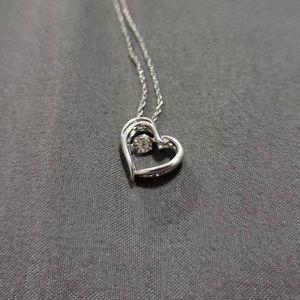 ZALES Unstoppable Love Diamond ❤️ necklace